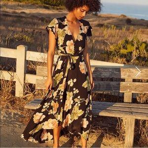 Christy Dawn peony wrap dress- Size Sm